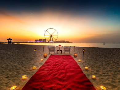 Head: Top ten ways to celebrate Valentine's Day at The Ritz-Carlton, Dubai