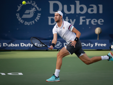 Dubai Duty Free Tennis 2020: Karen Khachanov interview