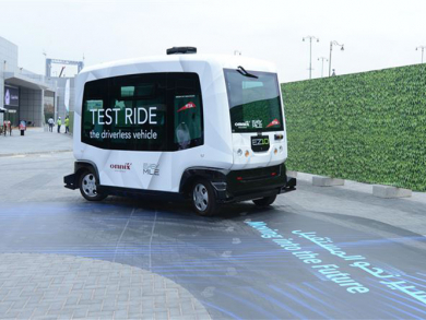 Dubai prepares to roll out self-driving vehicles