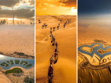 10 dreamy pictures of Dubai's desert