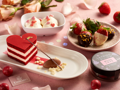 Dubai's Emirates Airline to serve special desserts for Valentine's Day
