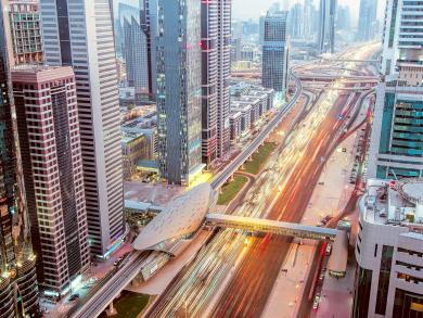 594 million riders used public transport in Dubai in 2019