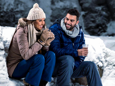 Hit the slopes this Valentine's Day in Dubai