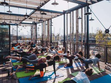 Dubai's Stars 'N' Bars launches new morning skyline yoga class