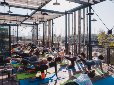 Dubai's Stars 'N' Bars launches new morning skyline yoga class