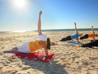 Three places to try outdoor yoga in Dubai