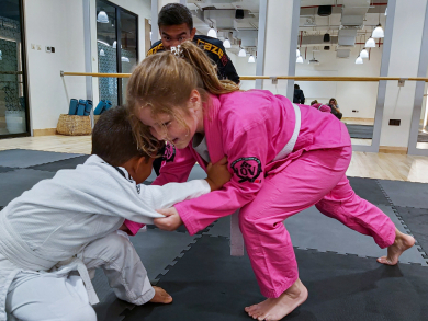 A new martial arts school has opened for kids