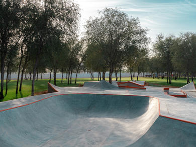 Ras Al Khaimah launches brand-new skate park at Saqr Park