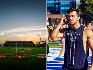 Dubai's Sevens Stadium to host big F45 Track fitness event