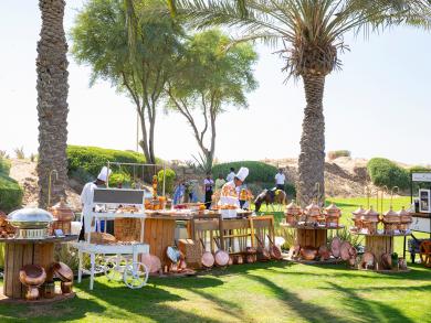 Bab Al Shams brunch