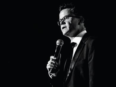 Comedian Dominic Holland on coming back to Abu Dhabi and Dubai