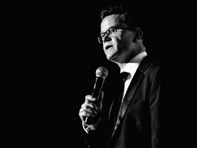 Comedian Dominic Holland on coming back to Abu Dhabi and Dubai