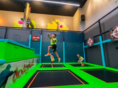 Trampo Extreme at The Dubai Mall is launching weekly dodgeball tournaments for kids