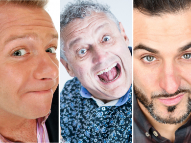 South African comedy legend Barry Hilton leading top comedy night