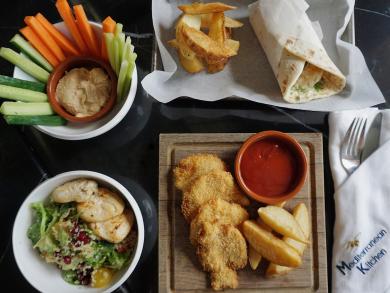 Mediterranean Kitchen has launched a new kids menu
