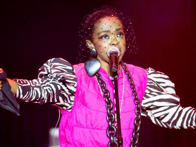 Ms. Lauryn Hill at Emirates Airline Dubai Jazz Festival