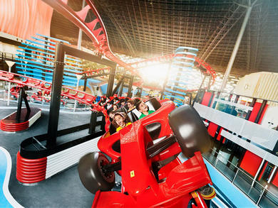 Ferrari World Abu Dhabi's new family zone is now open
