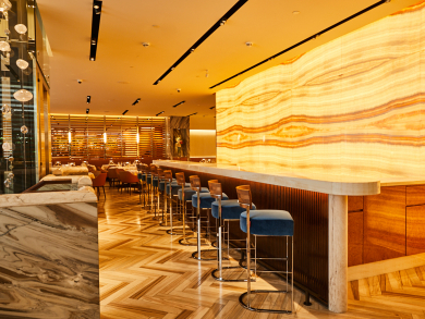 Special deal: get a three-course meal and a drink at DIFC's swish Marea
