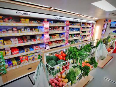 Dubai's Carrefour reveals the region's first-ever grocery bus