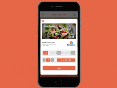 Newly-launched Dubai app Keepeat offers surplus food for 50% less