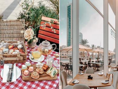 Enjoy a picnic-style afternoon tea for Dhs79 at Dubai's La Serre
