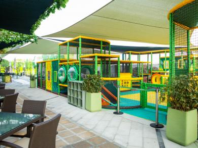 Dubai's The Green Planet has opened a brand-new family-friendly café