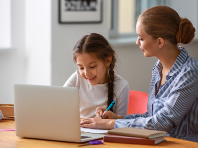 Six top tips to help your primary school child home learn