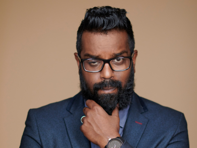 New date announced for British comedian Romesh Ranganathan's show in Dubai