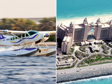 Seawings now offers half-price seaplane tours over Dubai