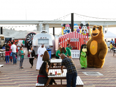 Dubai's Waterfront Market throwing huge free food carnival this weekend