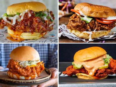 Dubai's best fried chicken sandwiches