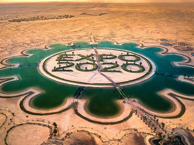 How to get to the stunning Expo 2020 Dubai Lake