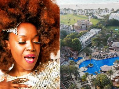 Catch superstar jazz diva Karmen Moxie live this weekend