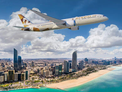 Abu Dhabi's Etihad Airways announces temporary changes to international flight routes