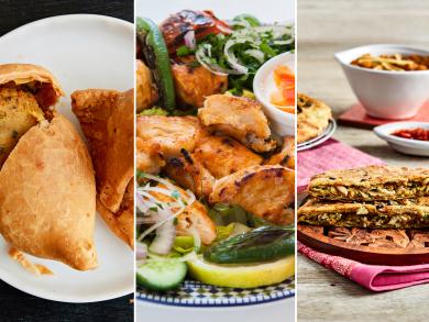 Dubai's top takeaways to try: savoury snack food