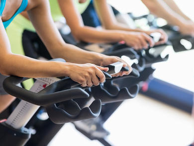 Rent spinning bikes for at-home workouts