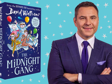 TV star and author David Walliams will be reading his stories to kids across the UAE