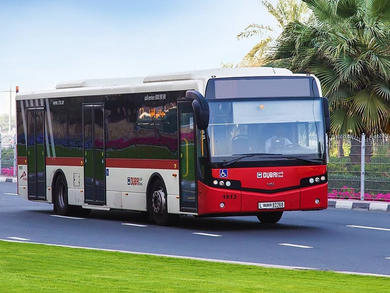 Dubai buses free to use for essential workers, taxis half-price