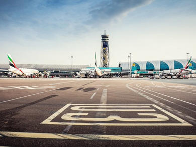 Watch full sterilisation of Dubai International Airport