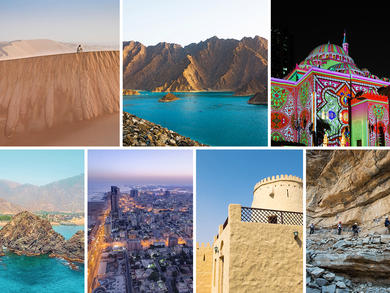 Stunning images of the UAE's seven emirates