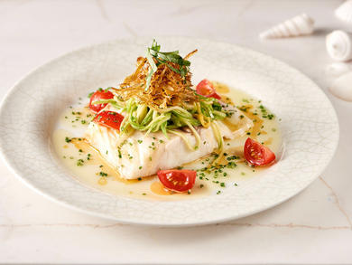 Recipe: LPM Restaurant & Bar's salt-baked sea bass