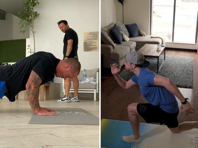 Try this extreme home workout from former Royal Marines in the UAE
