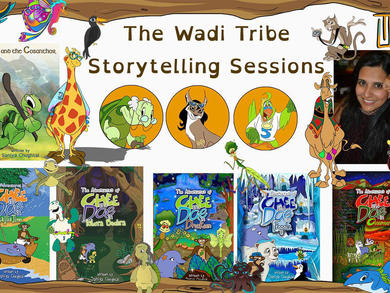 Local author holds weekly storytelling sessions for kids across the UAE
