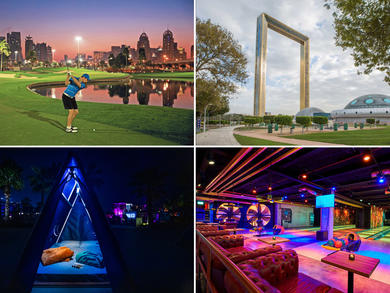 Best things to do at night in Dubai