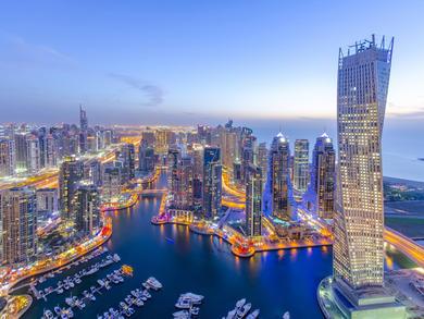 Dubai Marina's best restaurants, bars and nightlife