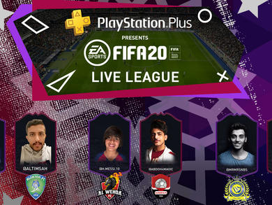 PlayStation Plus presents FIFA20 Live League KSA