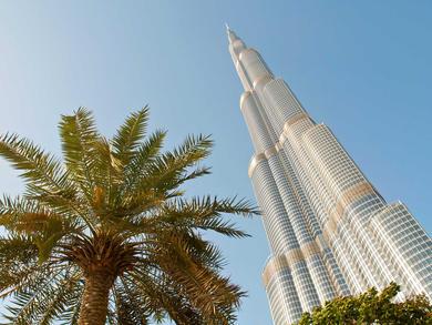 Dubai's Burj Khalifa turns into world's tallest donation box