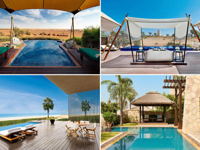 In pictures: UAE hotels with private pools