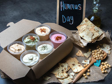 International Hummus Day 2020: Six limited-edition flavours to try