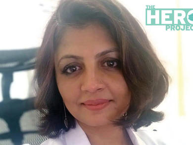 The Hero Project: Dr Humair Iqbal, specialist – family medicine, Lifeline Hospital Abu Dhabi